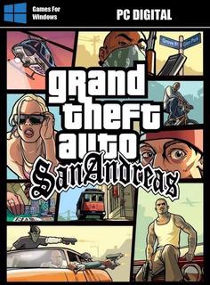 Grand Theft Auto San Andreas Edición Especi. Pc Digital Leer