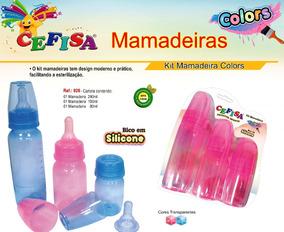 Kit De Mamadeira Cefisa 340,150 E 80 Ml