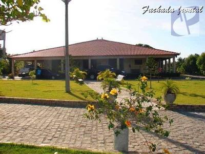 Linda Casa C/ Sítio Na Mangabeira, Eusébio. - Ra0001