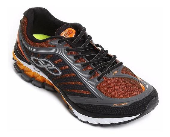 Zapatillas Olympikus Modelo Impact Gel Running Runway (5201)