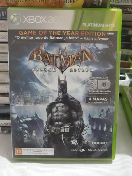 Batman Arkhan Asylum Xbox 360