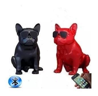 Caixa Som Amplificada Bluetooth Modelo Cachorrinho Bulldog