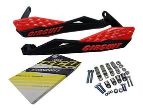 Protetor De Mão Circuit Fenix Carbon Xt 660 Crosser Xre Bros