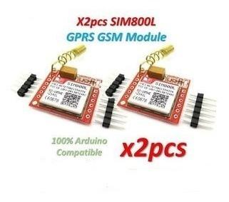 2 Pcs Módulo Gprs Gsm - Arduino Sim800l