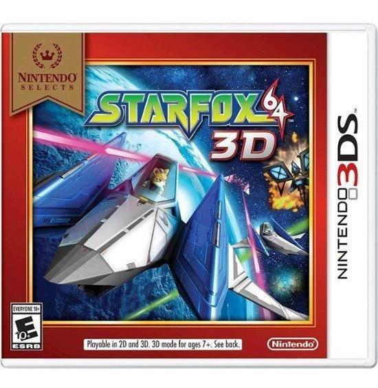 Starfox 64 3ds Mídia Física Novo Original Lacrado
