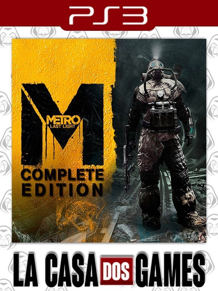 Metro Last Light - Complete Edition - Psn Ps3 - Envio Imedia