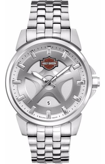 Relógio Bulova Masculino Harley Davidson Wh30215q 76b159