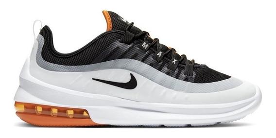 Tenis Nike Air Max Axis Blanco/negro/naranja Aa2146-017 0503