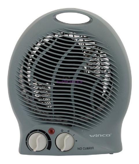 Caloventor Calefactor Electrico Estufa Termostato Winco W114