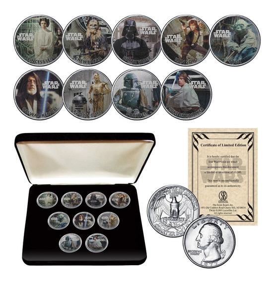 Coleccion Monedas Star Wars Set Box - Oficial