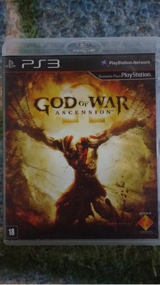 God Of War Ascension(leia) - Mídia Física - Ps3