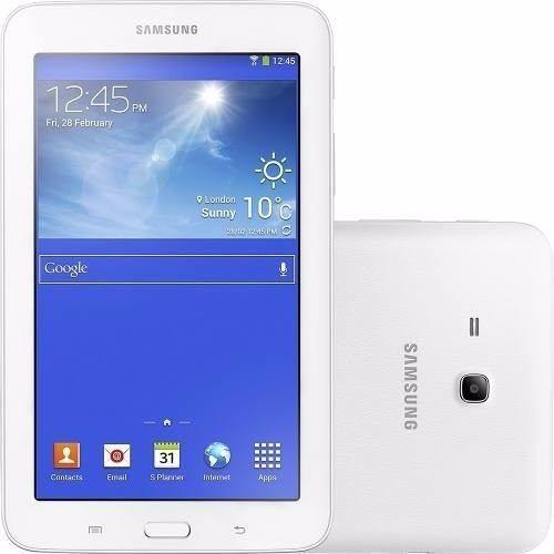 Tablet Samsung Galaxy Tab 3 Lite T111m 8gb 3g Branco Vitrine