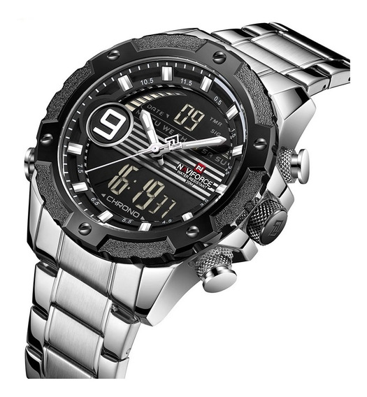 Relógio Naviforce Masculino Esportivo Militar Original