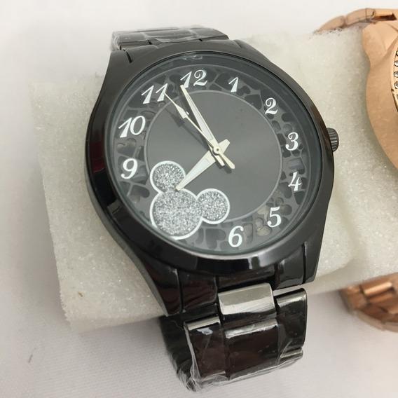 Relógio Feminino Bonito Barato Vários Modelos Bateria Extra