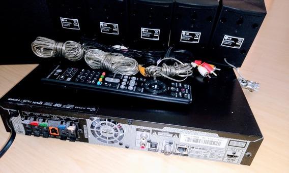 3d Blue Ray Home Theather Bh4030 LG Com 5 Canais Áudio