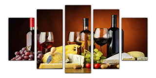 Cuadros Decorativos Vinos 150x80 Modernos Para Bares Y Salas