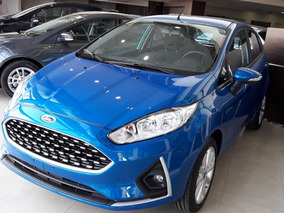 Ford Fiesta Se Kinetic 1.6 2018 0 Km | Blanco