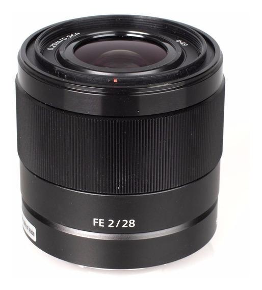 Lente Sony Sel Fe 28mm F/2 Full Frame A7s A7r A6500 A6300