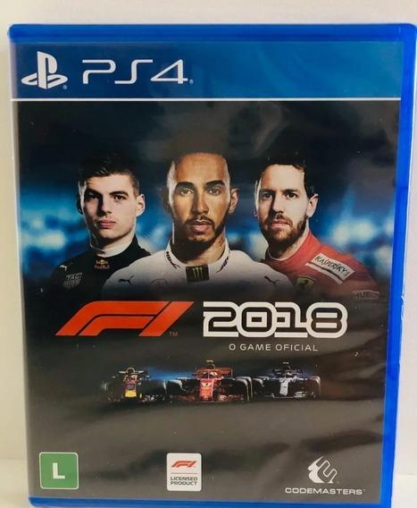 F1 2018 Ps4 Edição Normal Nacional Lacrado Rj
