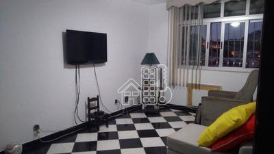 Apartamento Residencial Para Venda E Locação, Fonseca, Niterói. - Ap2085