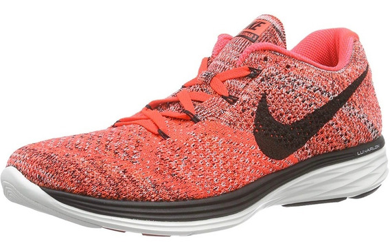Tenis Nike Flyknit Lunar 3 Men 698181-603 Johnsonshoes + Msi