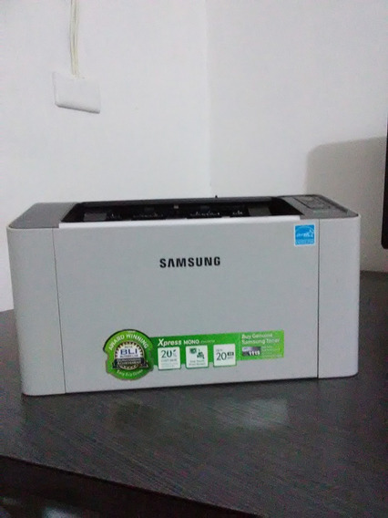 Impresora A Laser Samsung Blanco Y Negro Modelo Express M202