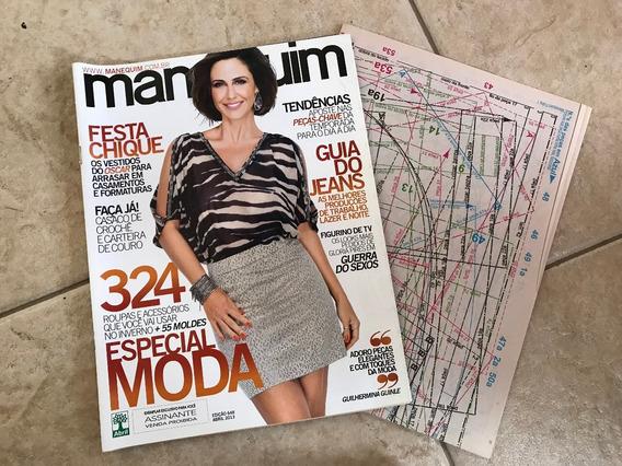 Revista Manequim 648 Guilhermina Guinle Jeans Vestidos I577