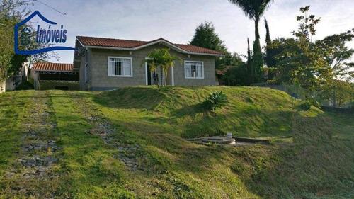 Chácara Com 2 Dormitórios À Venda, 15000 M² Por R$ 430.000 - Veraneio Irajá - Jacareí/sp - Ch0036