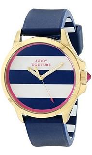 Juicy Couture 1901222 Jetsetter Analógico Pantalla Reloj De