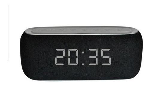Rádio Relógio Digital Despertador Bluetooth Goldship Portáti
