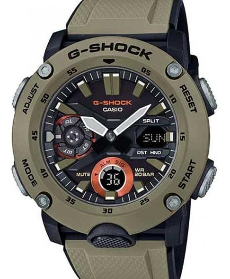 Relógio Casio Masculino G-shock Carbon Ga-2000-5adr
