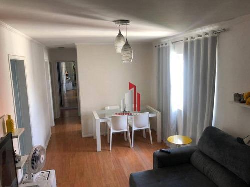 Imagem 1 de 12 de Apartamento Com 3 Dormitórios À Venda, 62 M² Por R$ 275.451,70 - Jardim Íris - São Paulo/sp - Ap0297