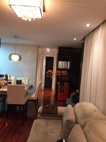 Imagem 1 de 15 de Apartamento Com 3 Dormitórios À Venda, 65 M² Por R$ 420.000,00 - Vila Augusta - Guarulhos/sp - Ap2155