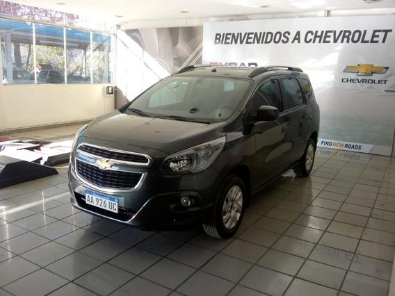 Chevrolet Spin Ltz 2017 Negra