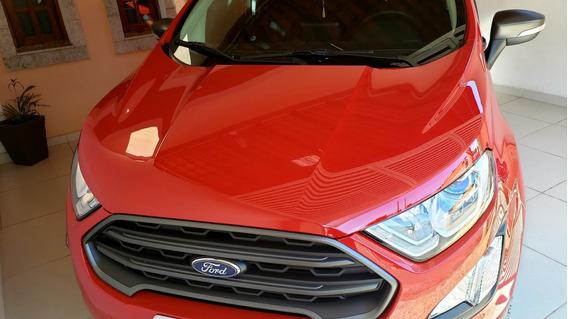 Ford Ecosport Freestyle Vermelho 2019 Baixa Km