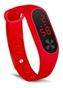 Relógio Led Digital Bracelete Feminino Masculino Barato