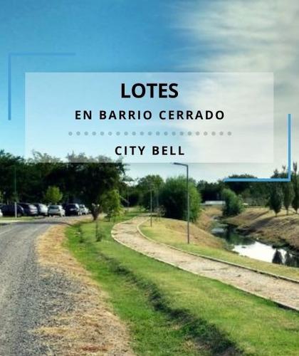 Venta De Lote En City Bell, La Plata. Barrio Cerrado
