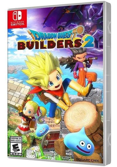 Jogo Dragon Quest Builders 2 Nintendo Switch Mídia Física