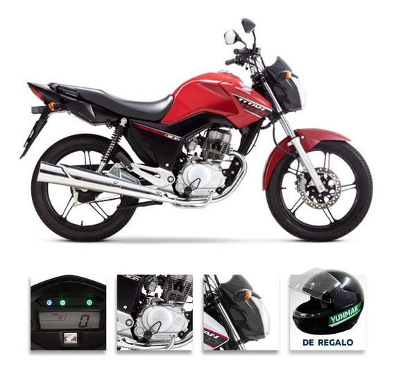 Moto Honda Cg 150 Titan Ym20 -2020- 0km-yuhmak Nº1 En Ventas