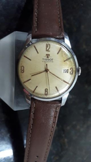 Relógio Tissot Swiss Made Anos 50 Mov. A Corda Manual