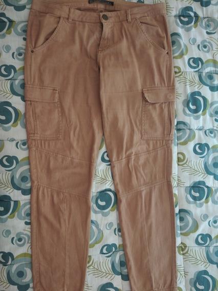 Pantalon De Vestir Zara Para Dama Talla 8.