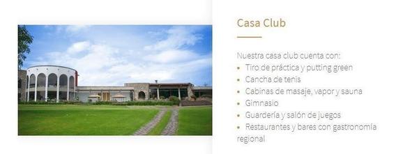 Terreno En Hacienda Cantalagua (club De Golf)