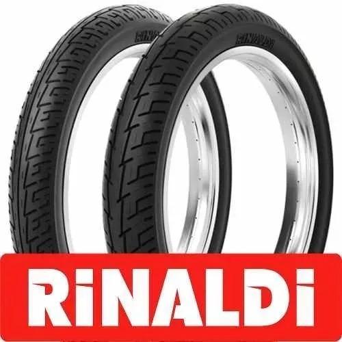 Cubierta Rinaldi Calle Bs 32 80-100-14. Bm Motopartes