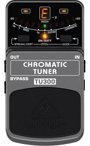 Pedal Afinador Cromático Para Guitarra Behringer Tu300
