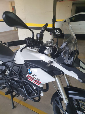 Bmw F800 R Gs800 Branca 2014 Enduro