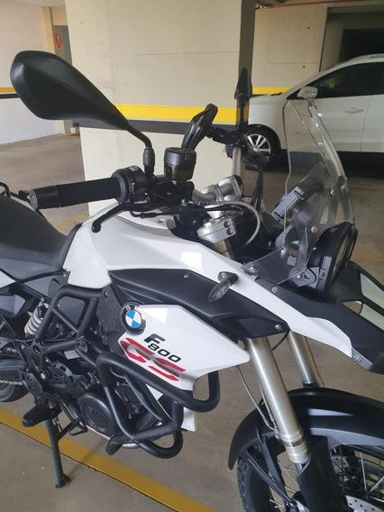 Bmw F800 R Gs800 Branca 2014 Enduro