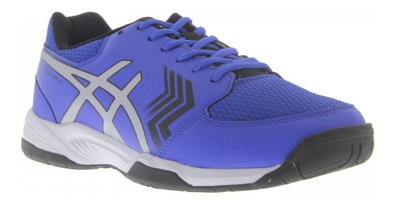 Tênis Asics Gel Dedicate 5a - Azul E Preto