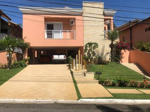 Casa Com 5 Dormitórios, 495 M² - Venda Por R$ 3.700.000,00 Ou Aluguel Por R$ 15.200,00/mês - Alphaville 01 - Barueri/sp - Ca2604