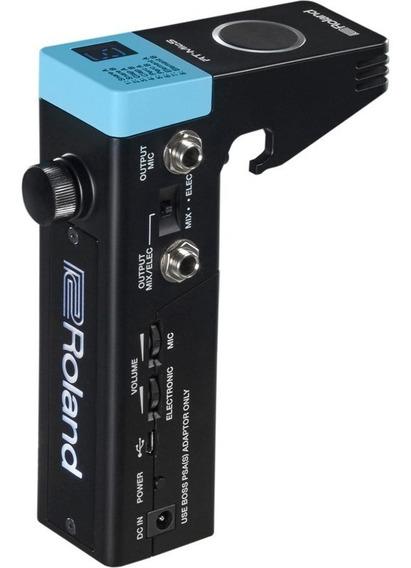 Modulo Trigger Roland Bateria Para Caixa E Tom Rt Mics
