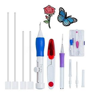 Bordado Punch Agujas Set Euow Magic Punch Pen Set Craft Tool